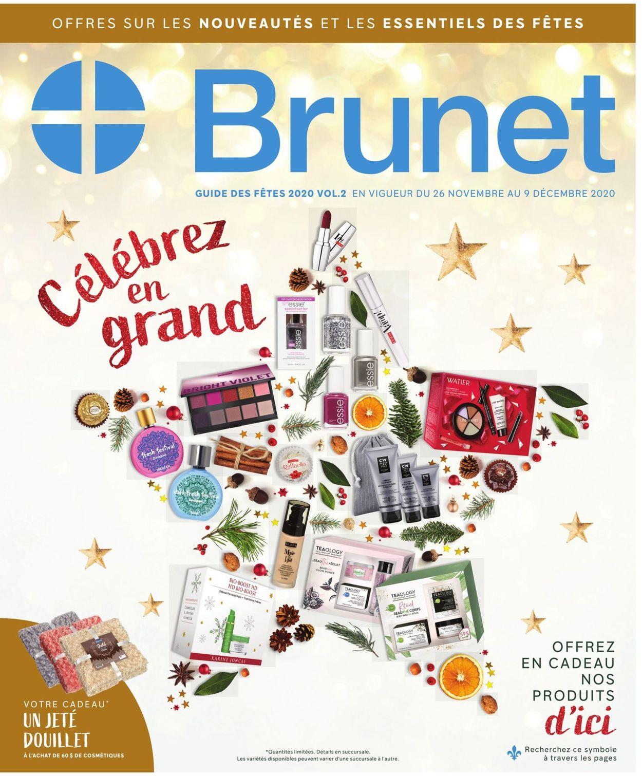 Brunet - Black Friday 2020 Flyer - 11/26-12/09/2020