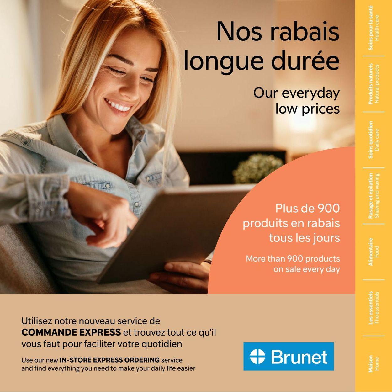 Brunet Flyer - 03/11-05/12/2021