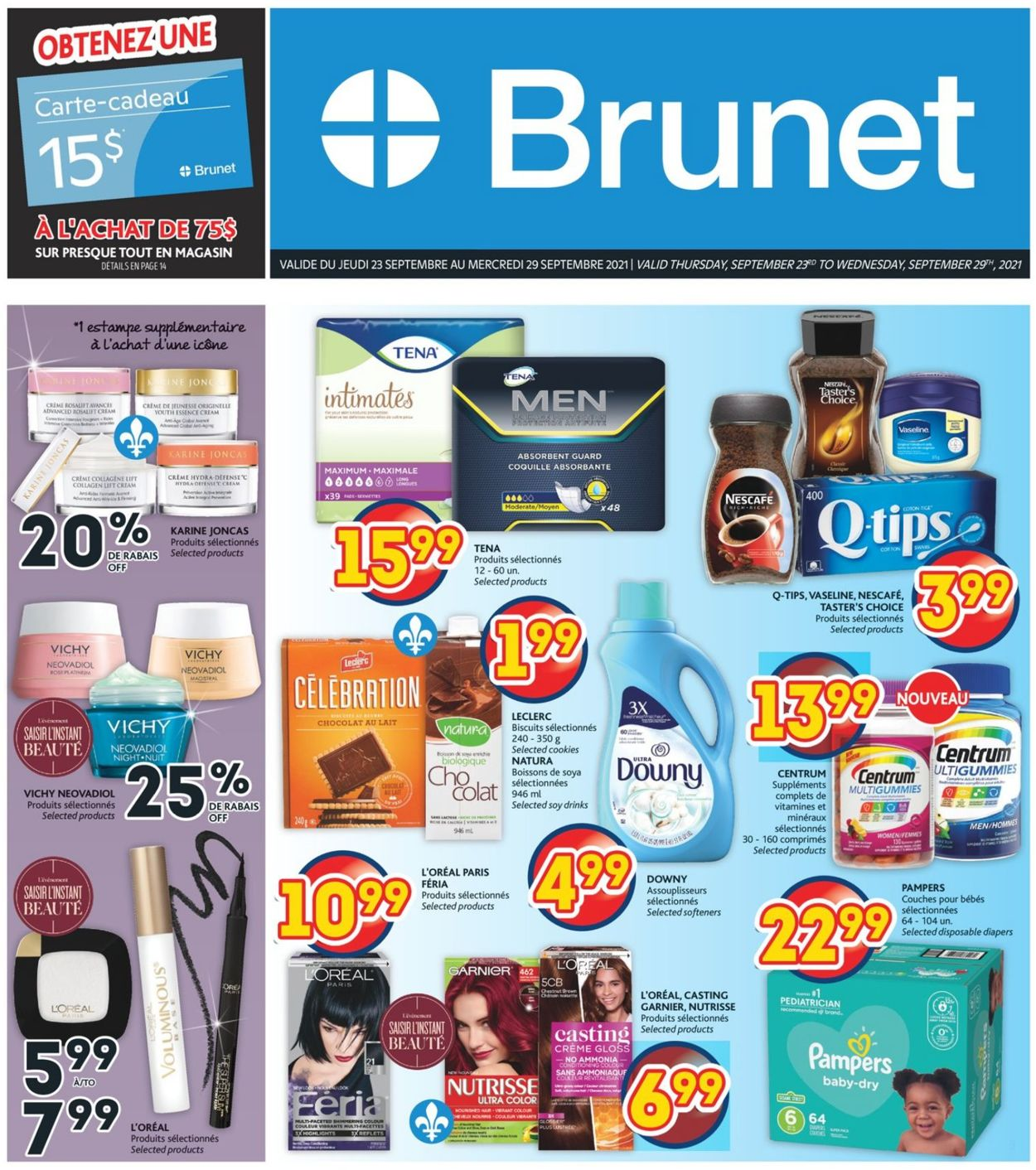 Brunet Flyer - 09/23-09/29/2021