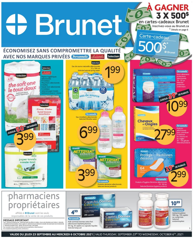 Brunet Flyer - 09/23-10/06/2021