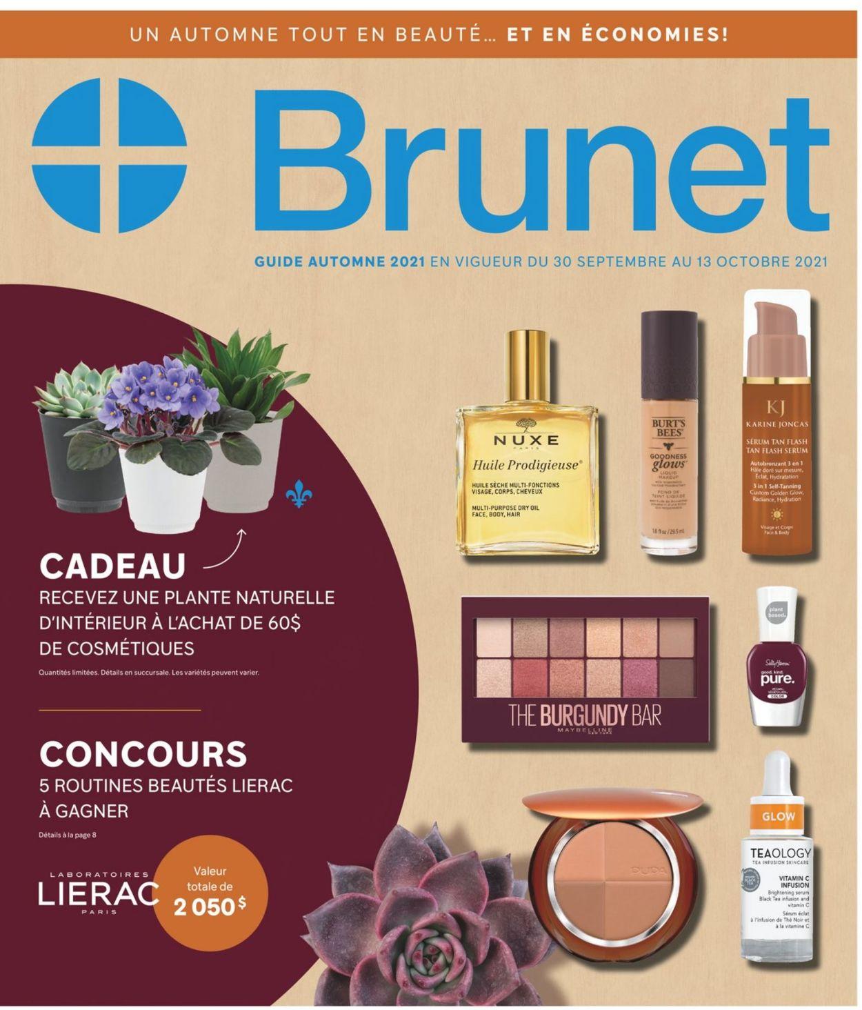 Brunet Flyer - 09/30-10/13/2021