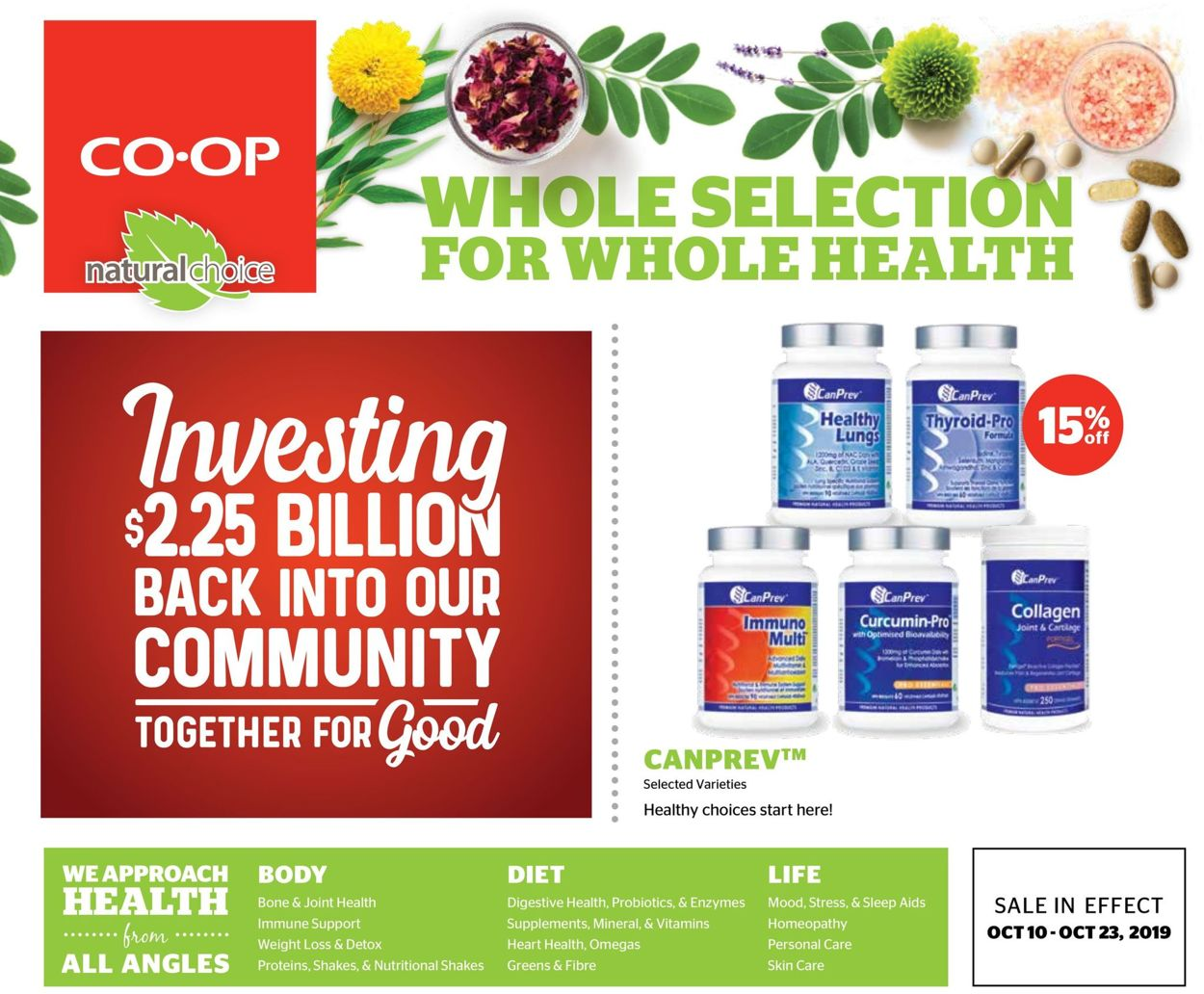Calgary Co-op Flyer - 10/10-10/23/2019