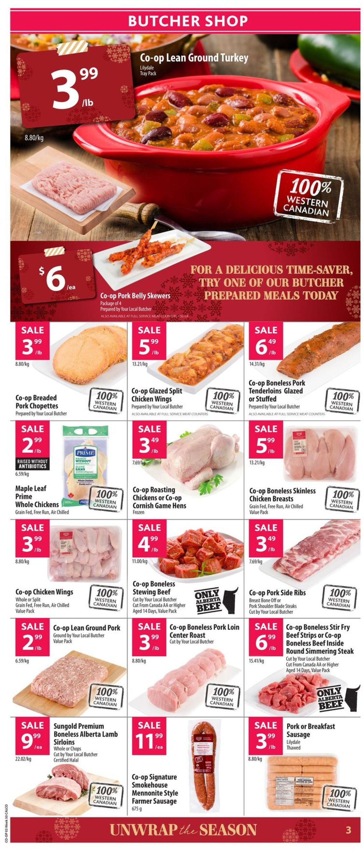 Calgary Co-op - Christmas 2019 Flyer Flyer - 12/05-12/11/2019 (Page 4)