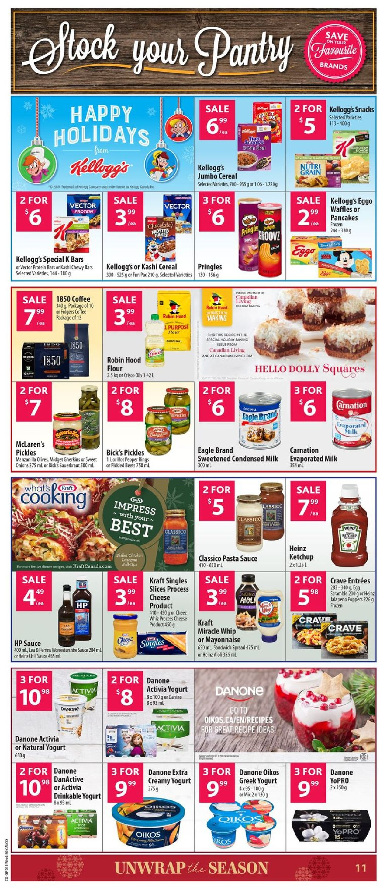 Calgary Co-op - Christmas 2019 Flyer Flyer - 12/05-12/11/2019 (Page 12)