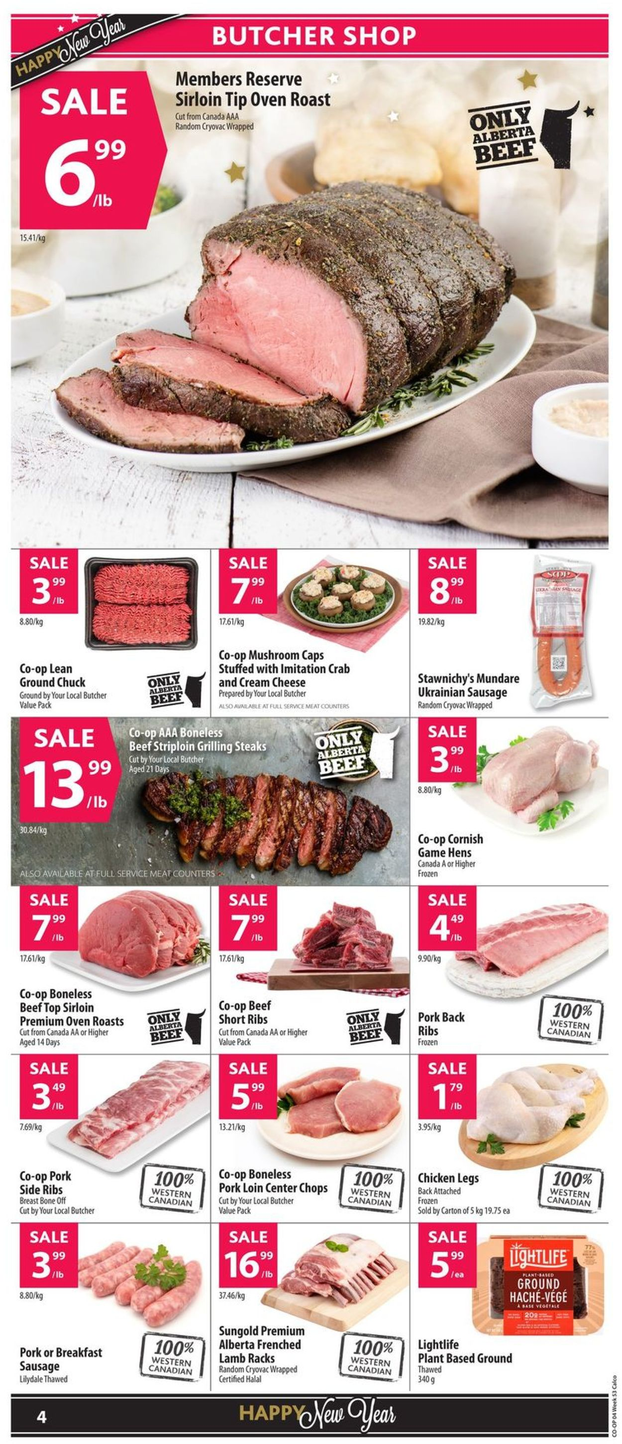 Calgary Co-op Flyer - 12/26-01/01/2020 (Page 6)