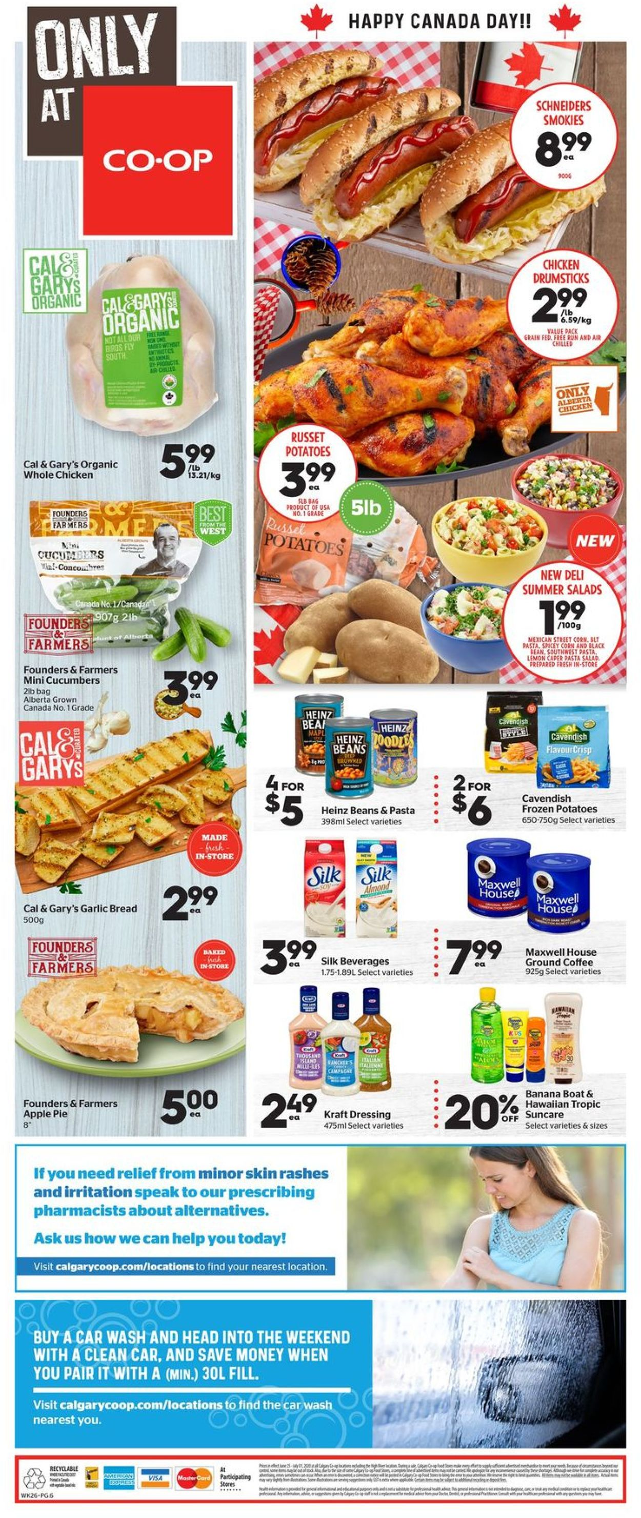 Calgary Co-op Flyer - 06/25-07/01/2020 (Page 8)