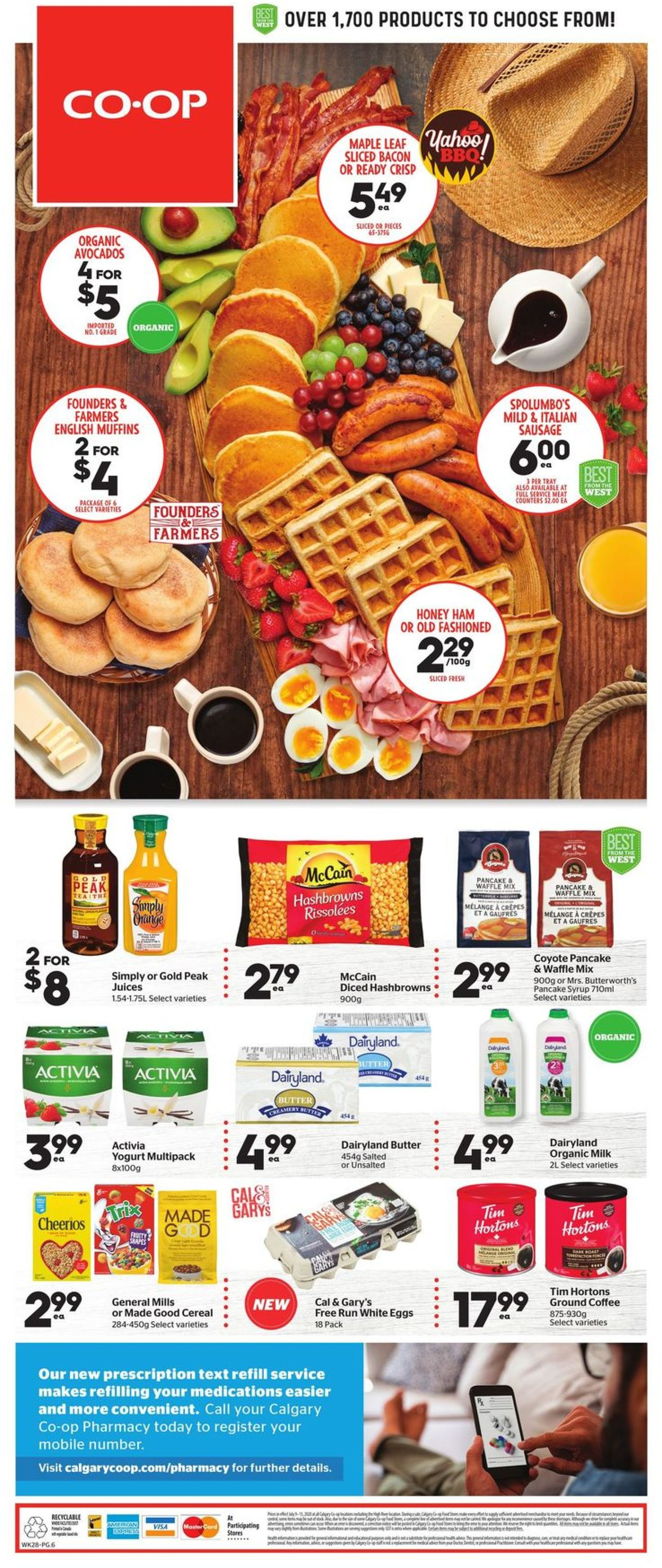 Calgary Co-op Flyer - 07/09-07/15/2020 (Page 8)