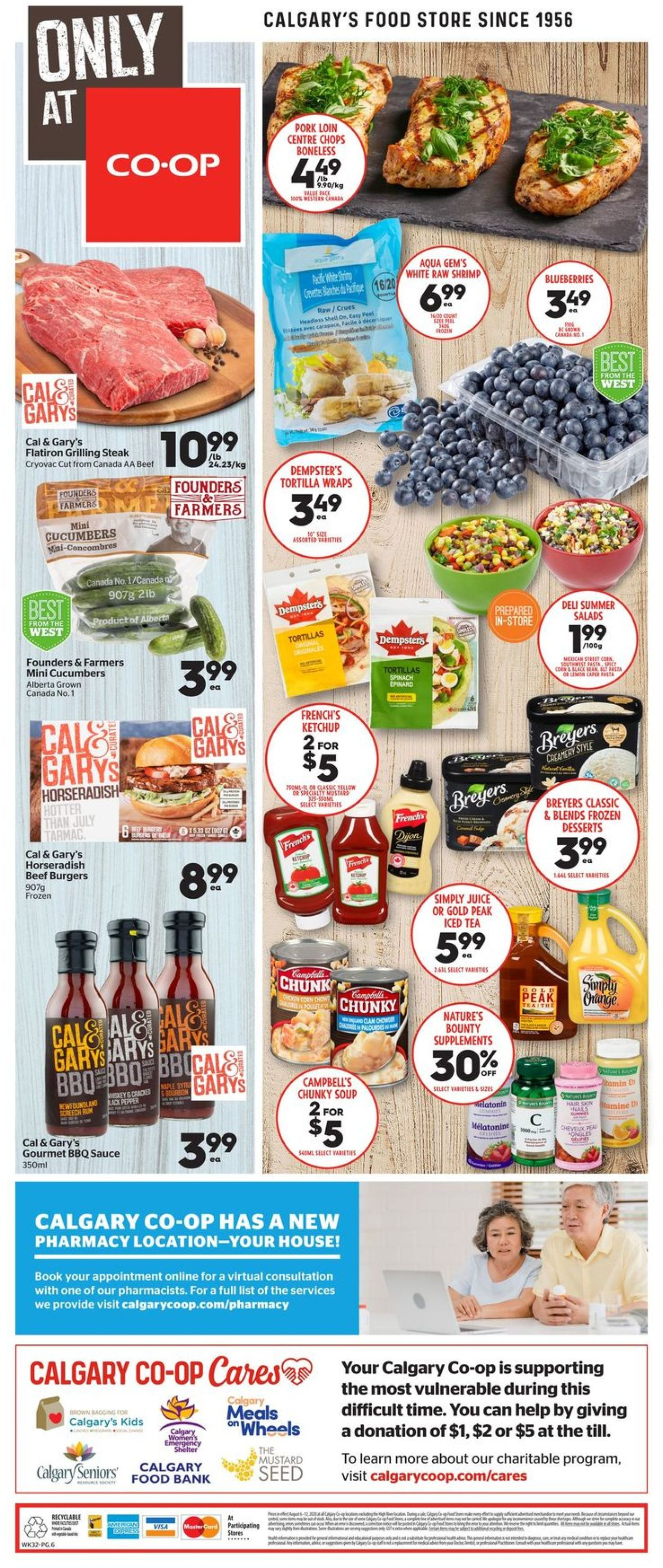 Calgary Co-op Flyer - 08/06-08/12/2020 (Page 8)
