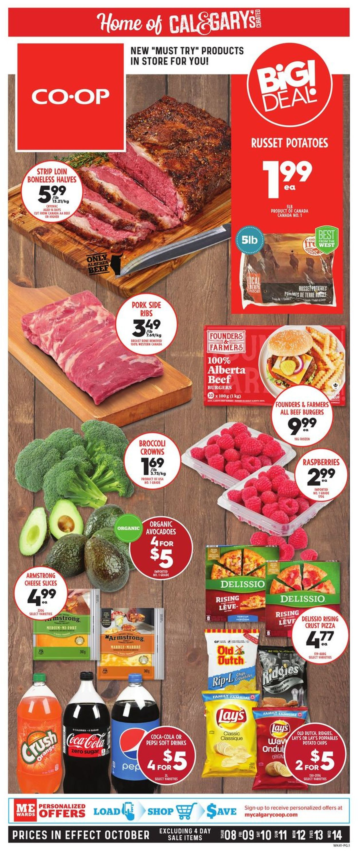 Calgary Co-op Flyer - 10/08-10/14/2020 (Page 3)