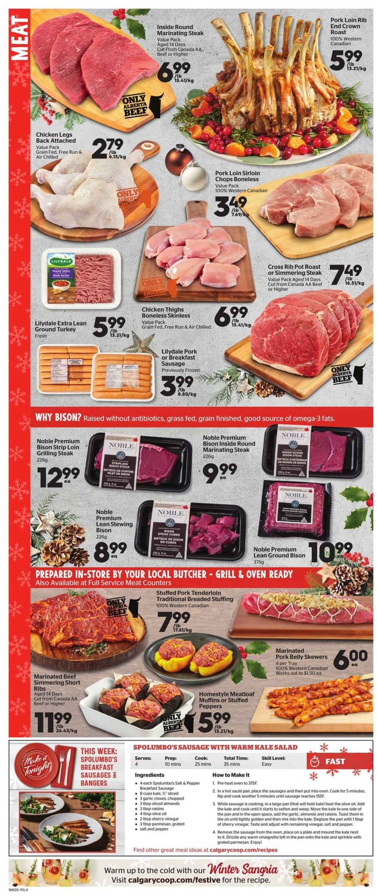 Calgary Co-op - Holidays 2020 Flyer - 12/03-12/09/2020 (Page 4)