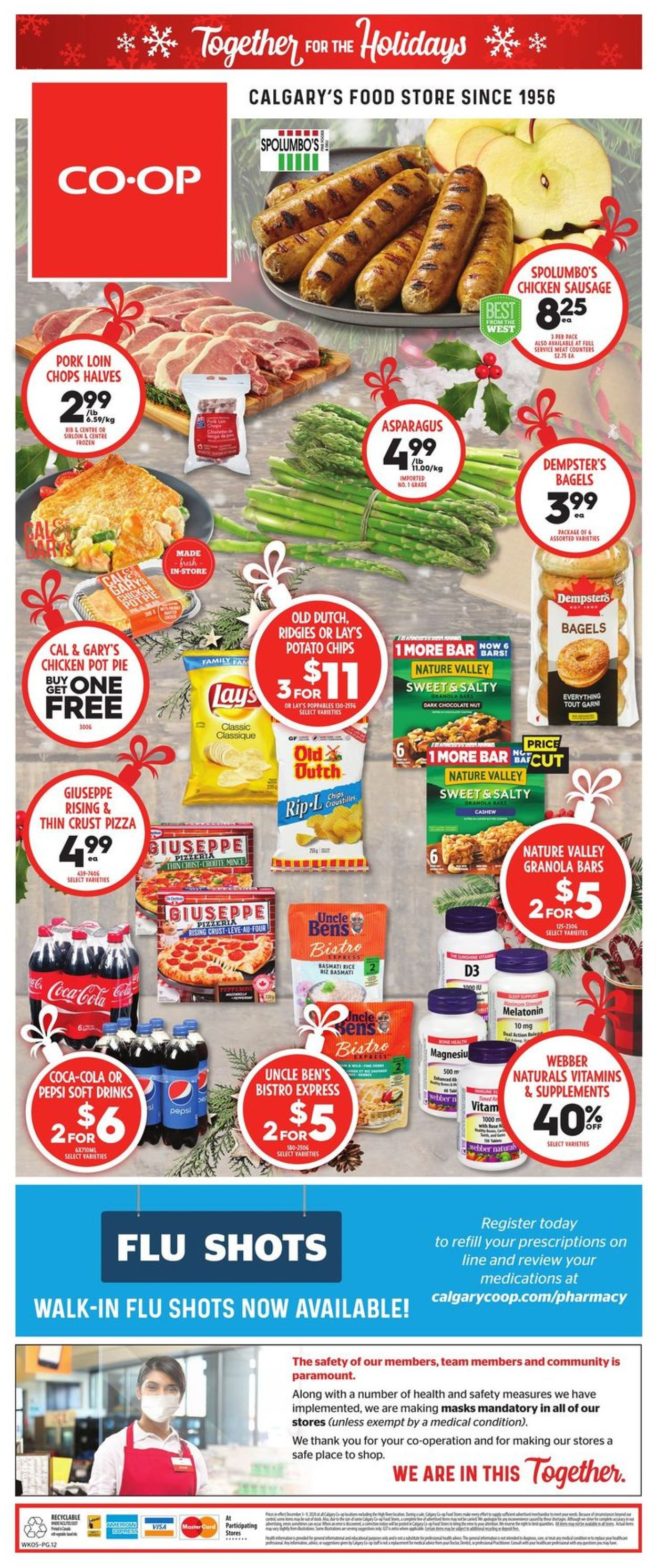 Calgary Co-op - Holidays 2020 Flyer - 12/03-12/09/2020 (Page 12)