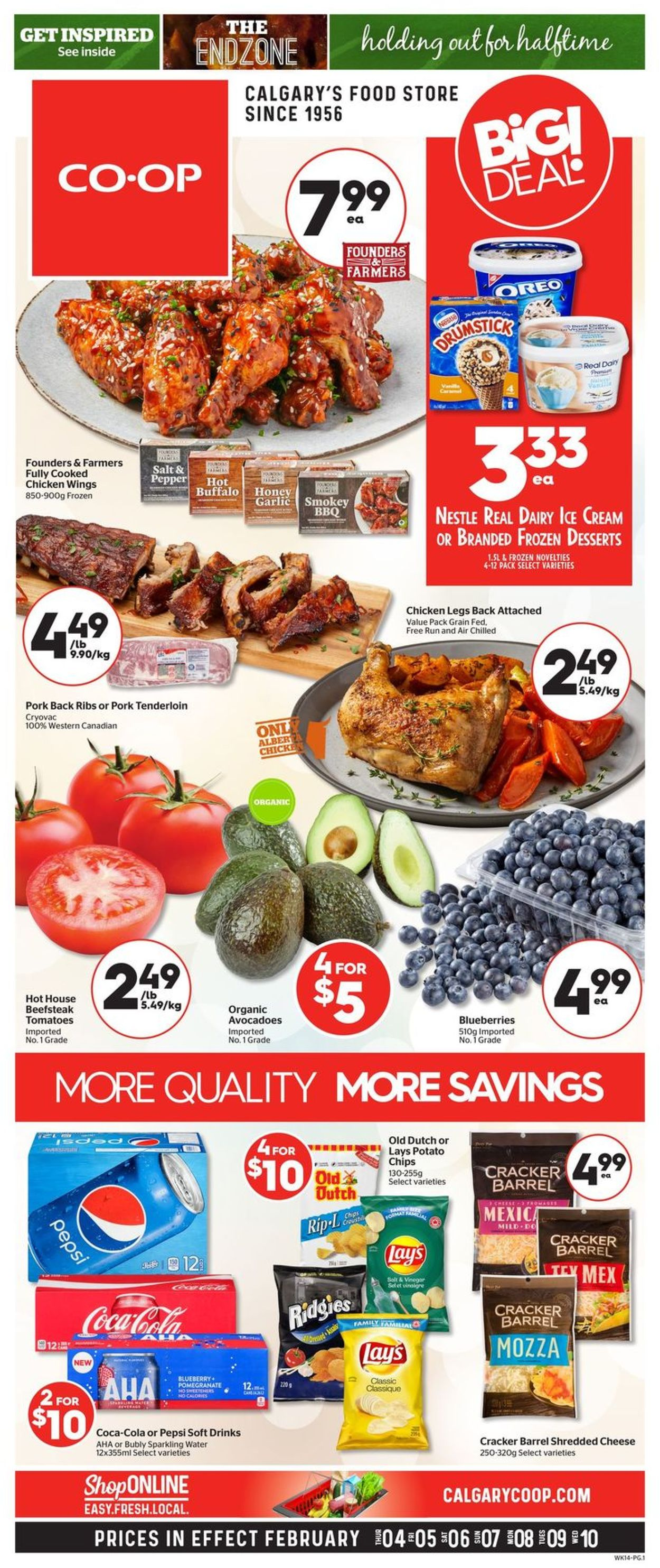 Calgary Co-op Flyer - 02/04-02/10/2021