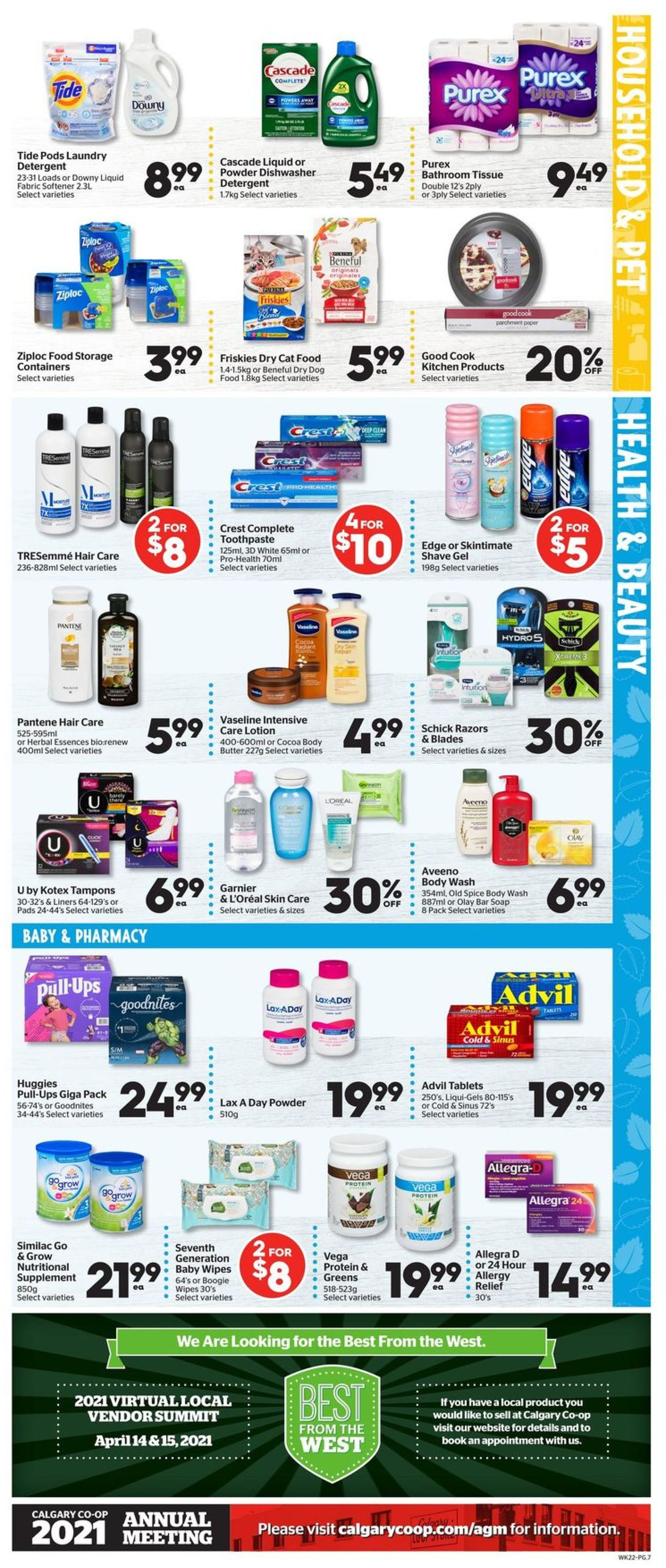 Calgary Co-op Flyer - 04/01-04/07/2021 (Page 7)