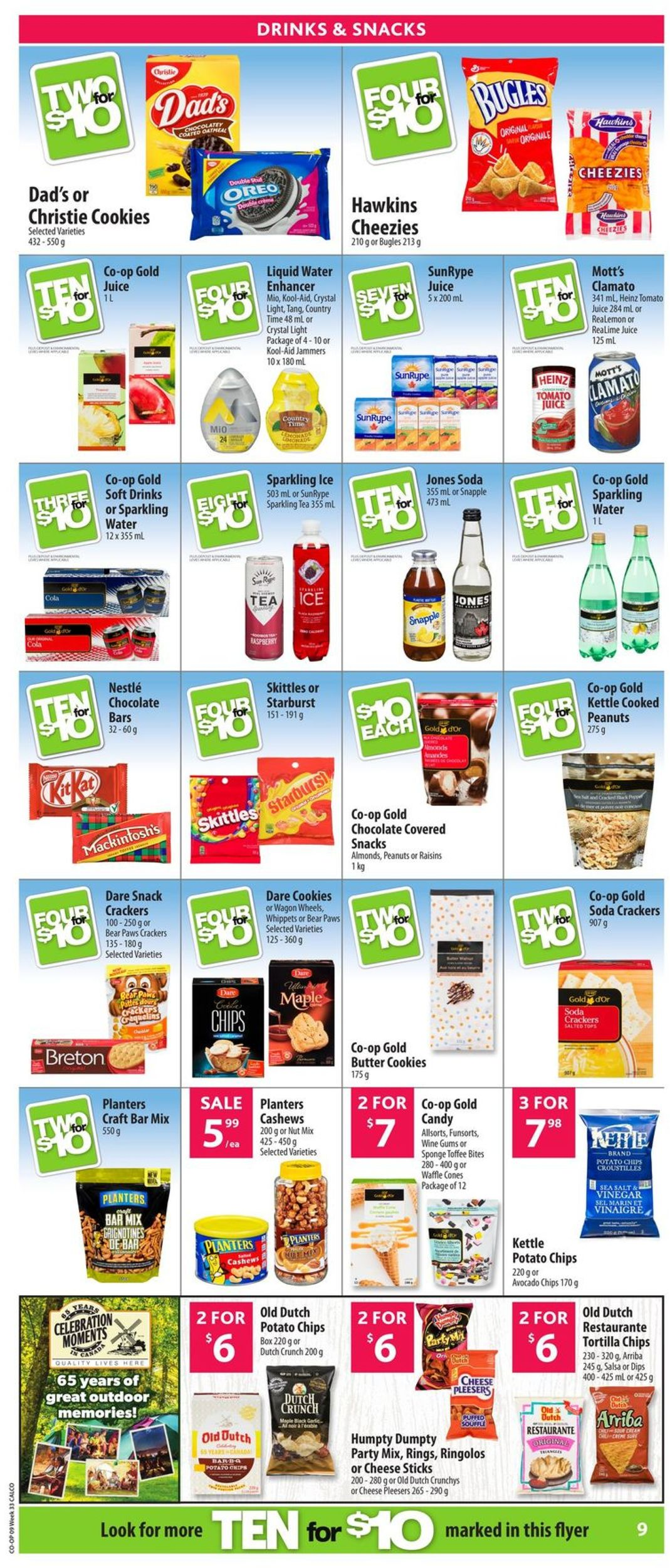 Calgary Co-op Flyer - 08/08-08/14/2019 (Page 10)
