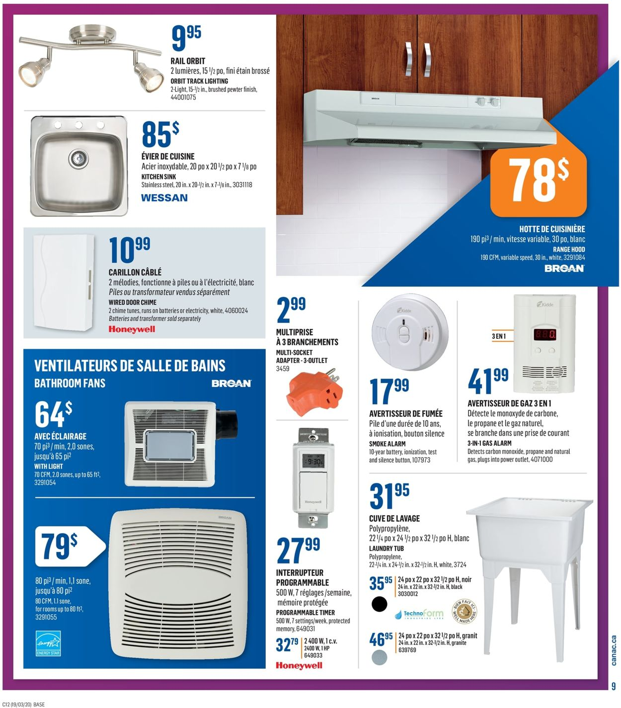 Canac Flyer - 03/19-03/25/2020 (Page 13)