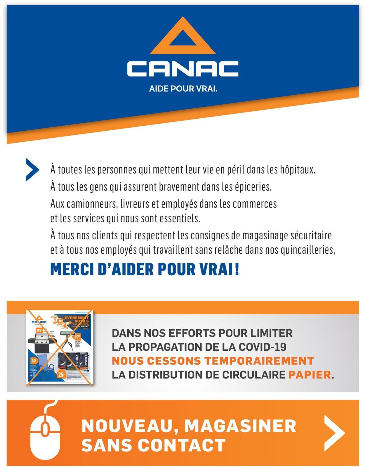 Canac Flyer - 04/16-05/31/2020