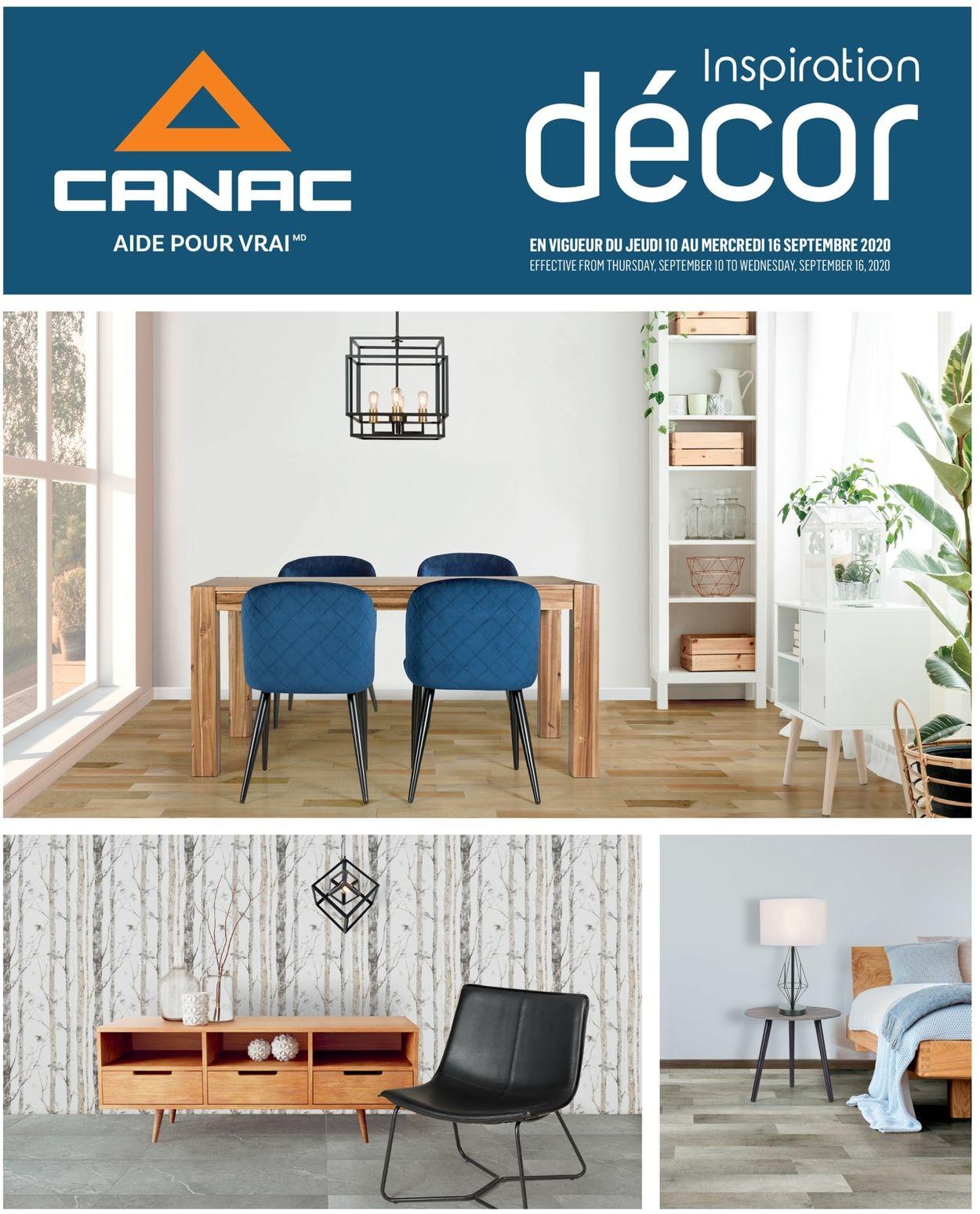 Canac Flyer - 09/10-09/16/2020