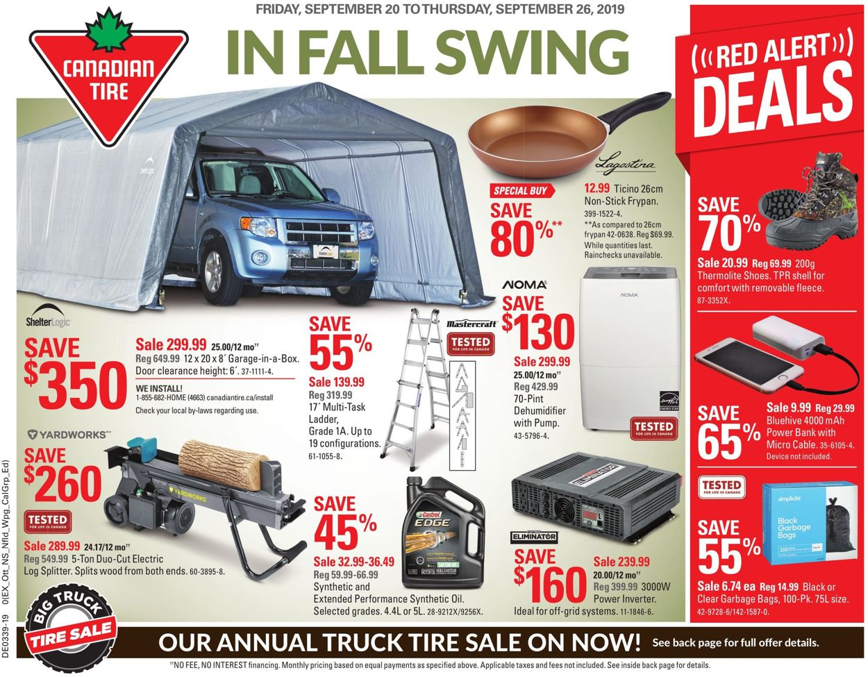 Canadian Tire Flyer - 09/20-09/26/2019