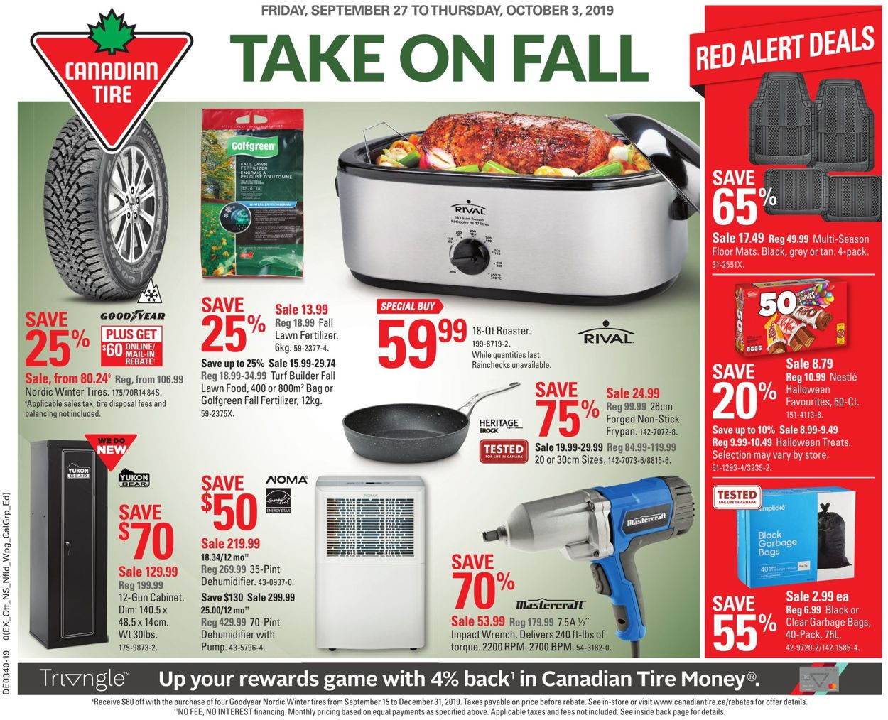 Canadian Tire Flyer - 09/27-10/03/2019