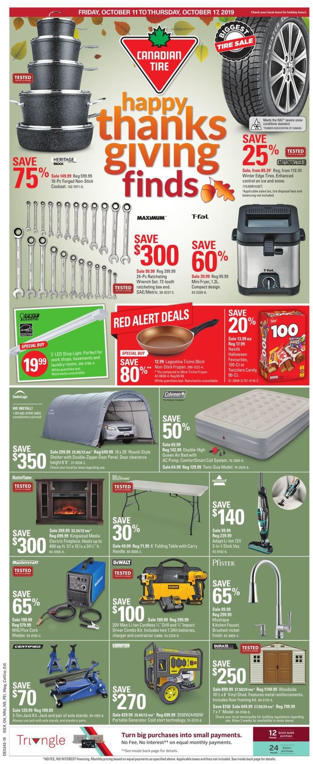 Canadian Tire Flyer - 10/11-10/17/2019