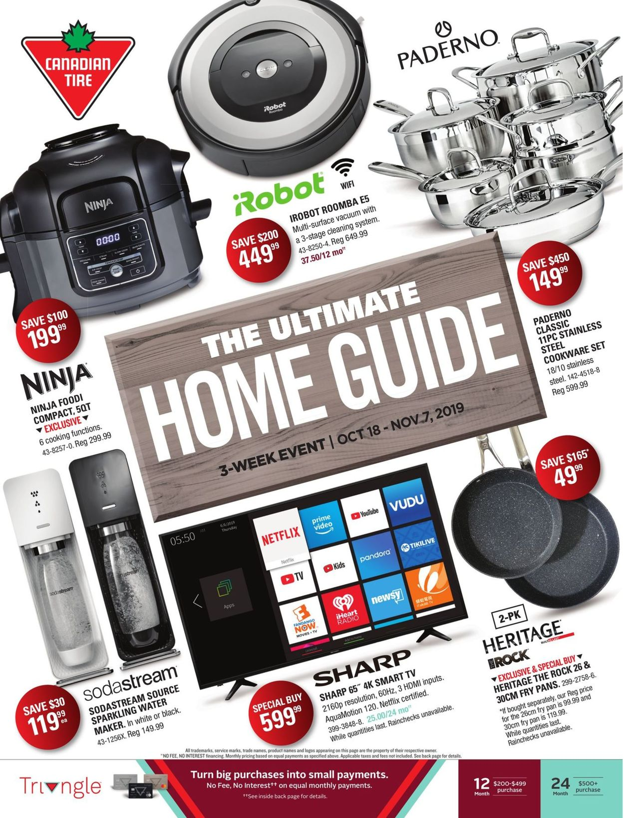 Canadian Tire Flyer - 10/18-11/07/2019