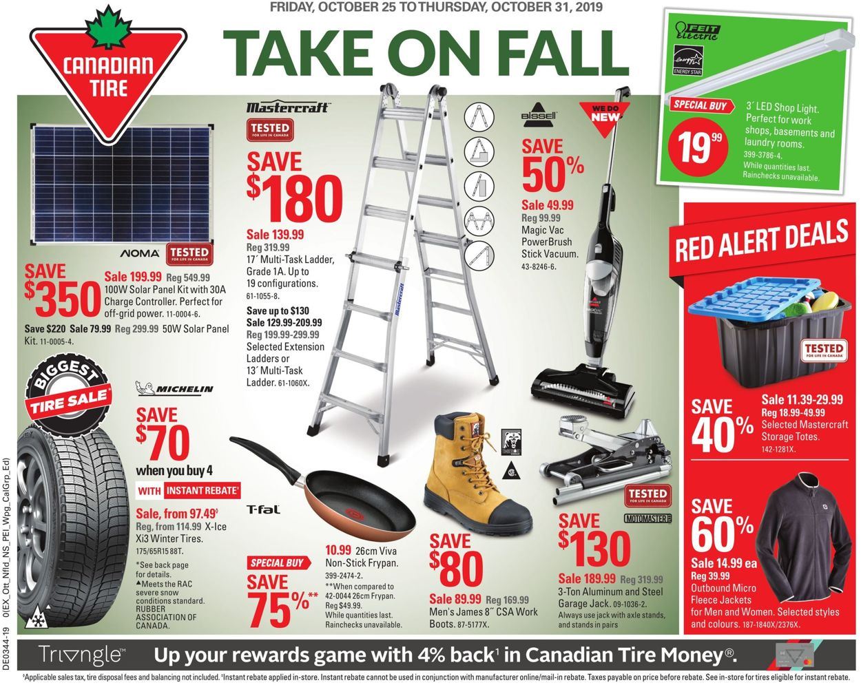 Canadian Tire Flyer - 10/25-10/31/2019