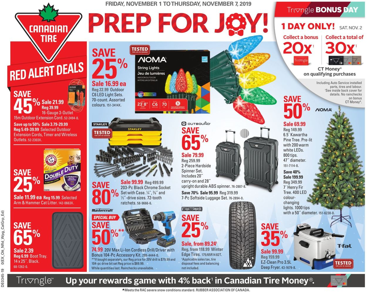 Canadian Tire Flyer - 11/01-11/07/2019