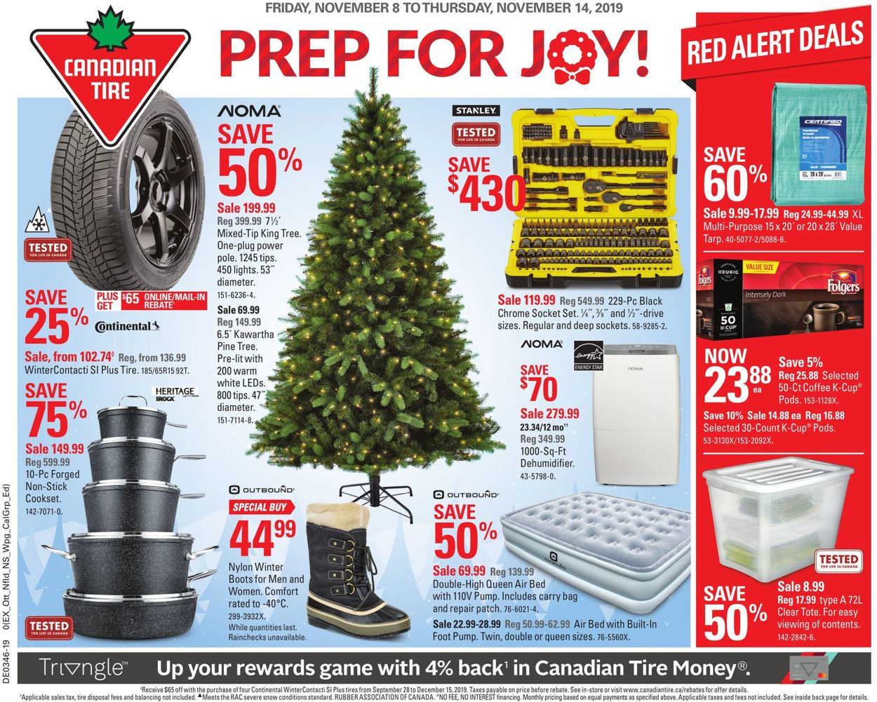 Canadian Tire Flyer - 11/08-11/14/2019