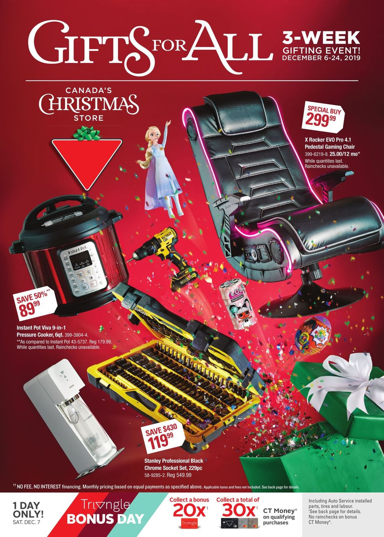 Canadian Tire - Christmas Flyer 2019 Flyer - 12/06-12/24/2019