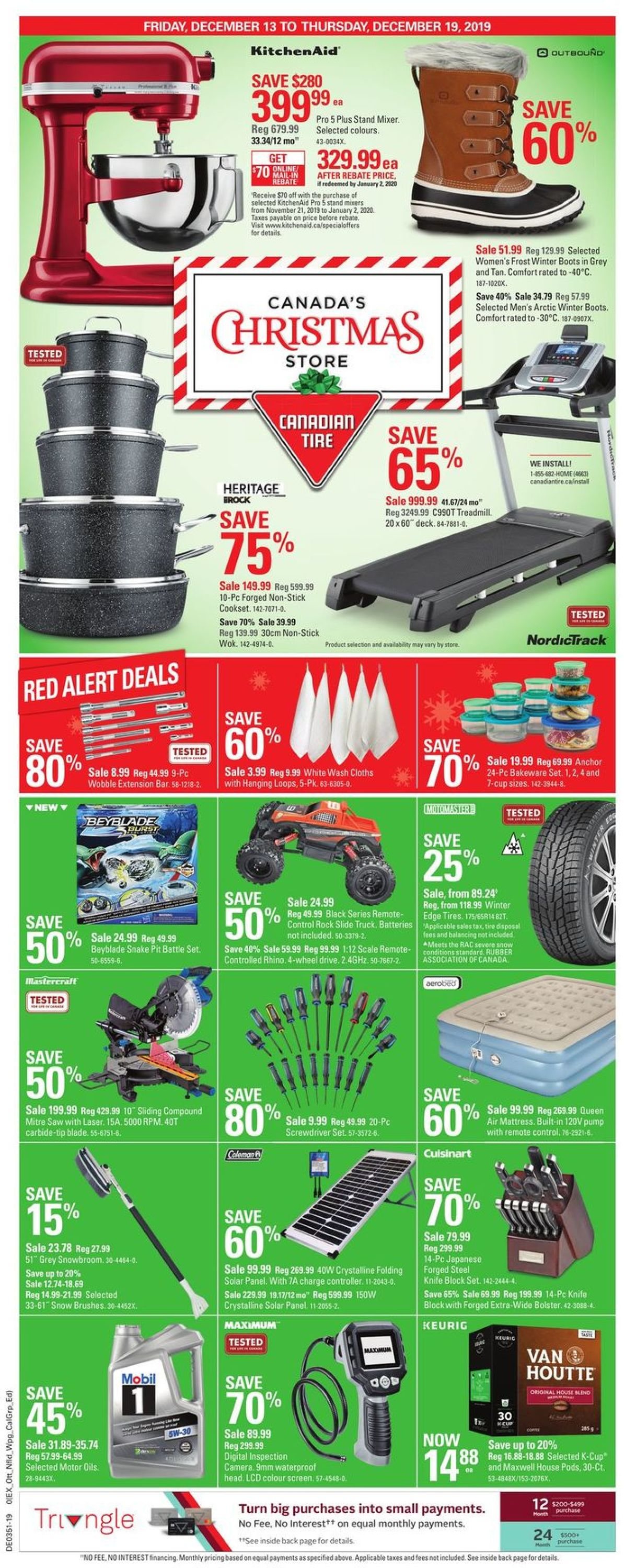 Canadian Tire - Christmas Flyer 2019