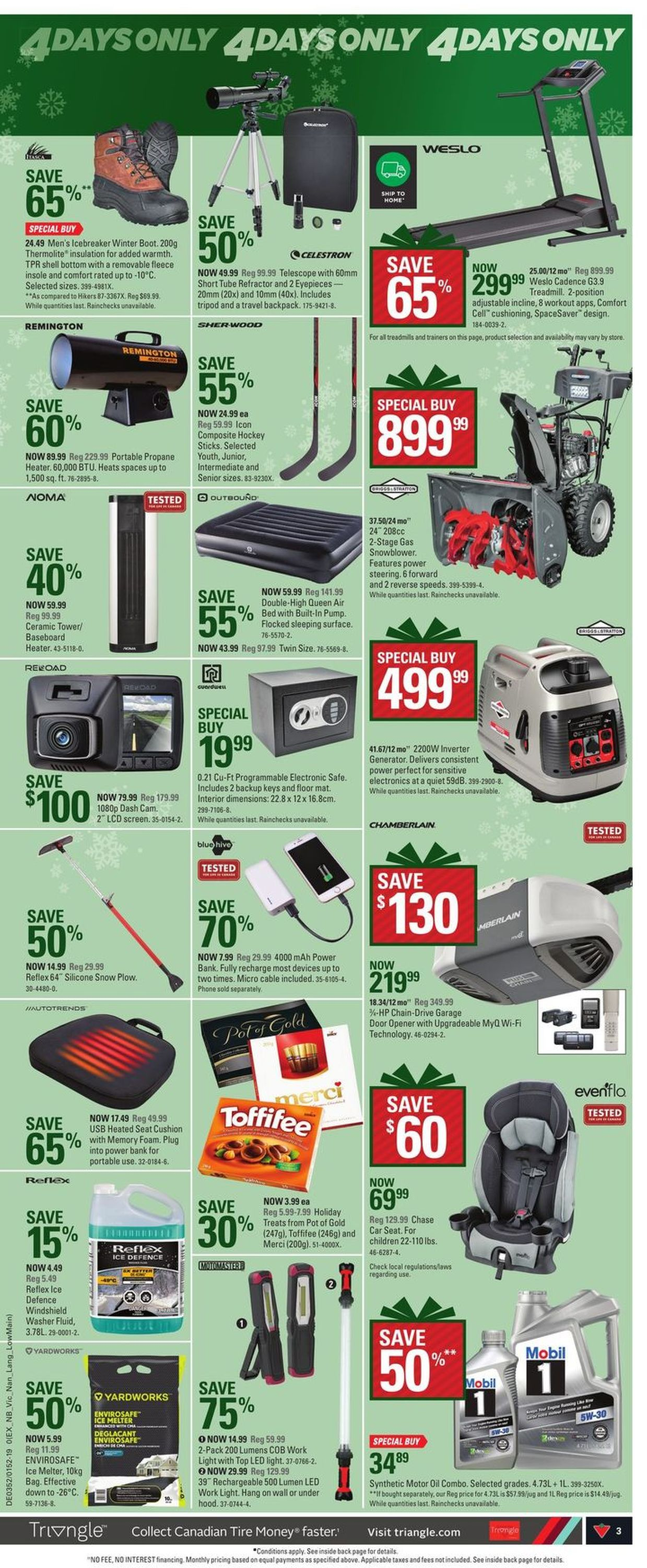 Canadian Tire Christmas Flyer 2019 Flyer - 12/19-12/26/2019 (Page 3)