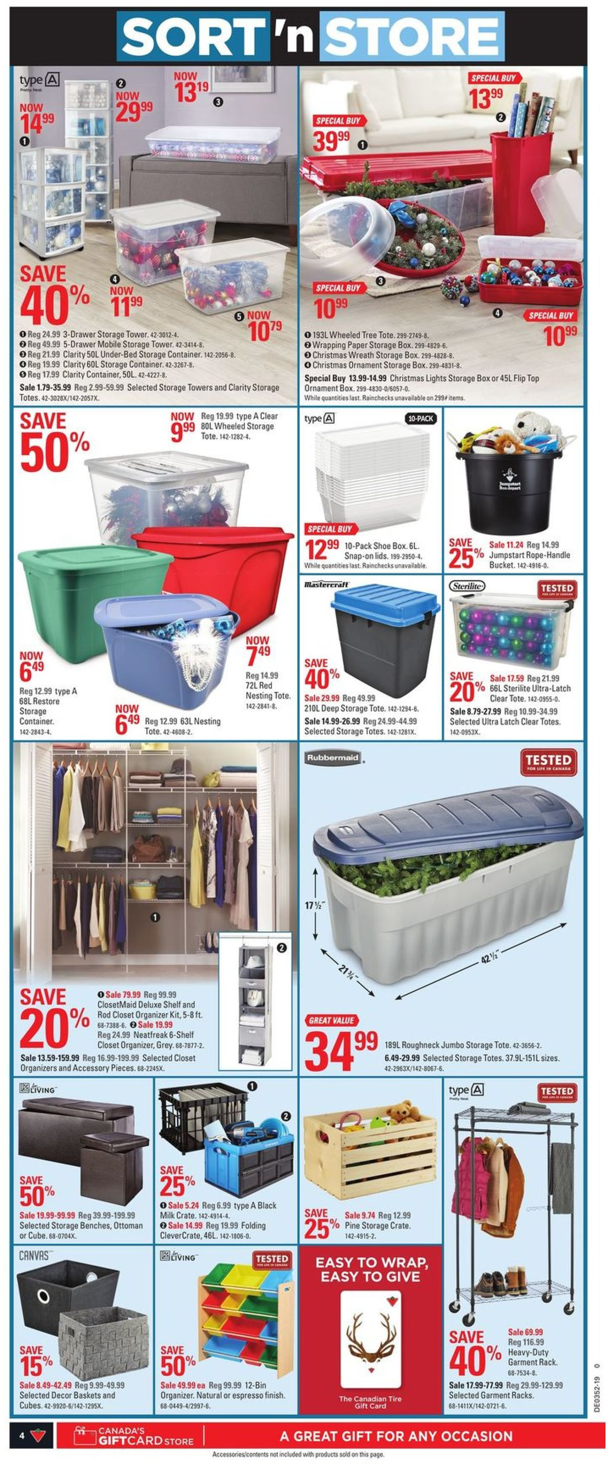 Canadian Tire Christmas Flyer 2019 Flyer - 12/19-12/26/2019 (Page 4)