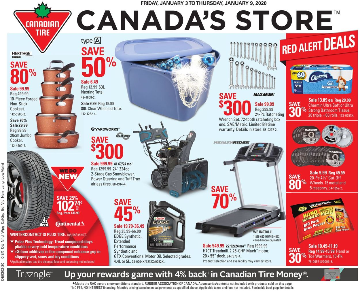 Canadian Tire Flyer - 01/03-01/09/2020