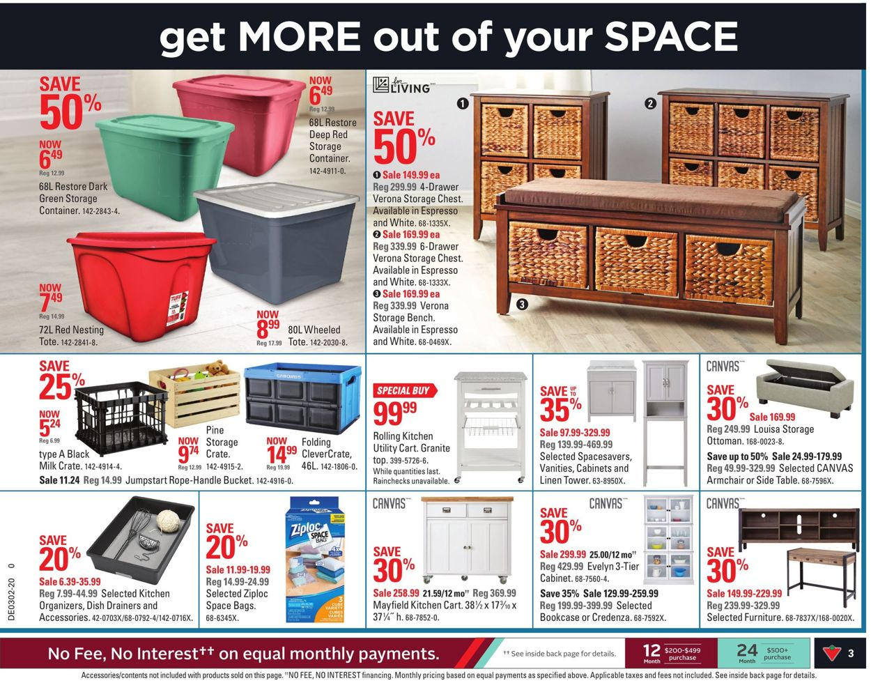 Canadian Tire Flyer - 01/03-01/09/2020 (Page 3)
