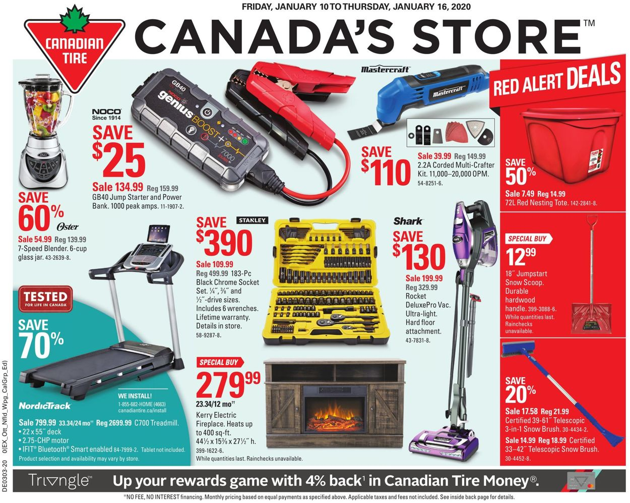 Canadian Tire Flyer - 01/10-01/16/2020
