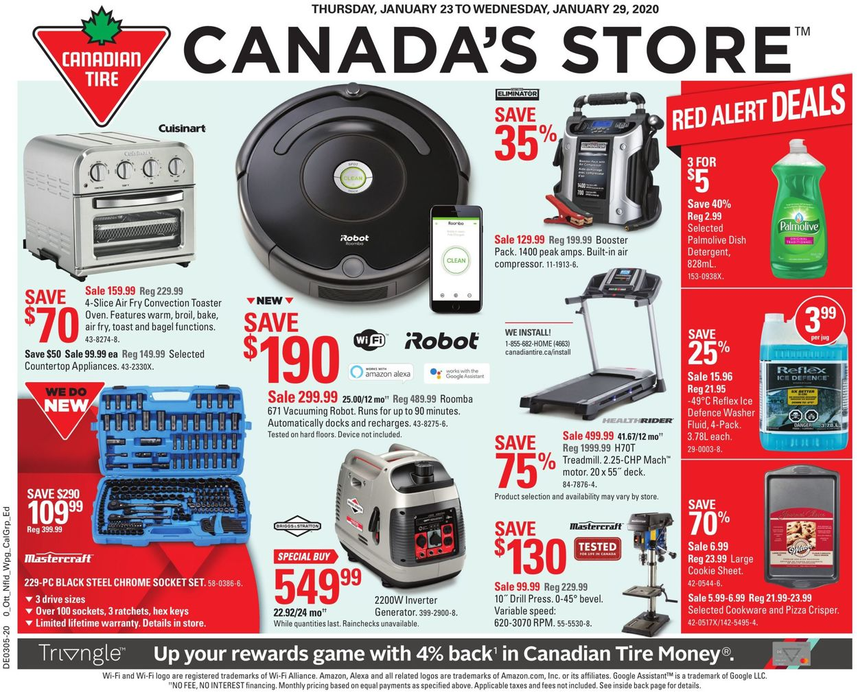 Canadian Tire Flyer - 01/23-01/29/2020