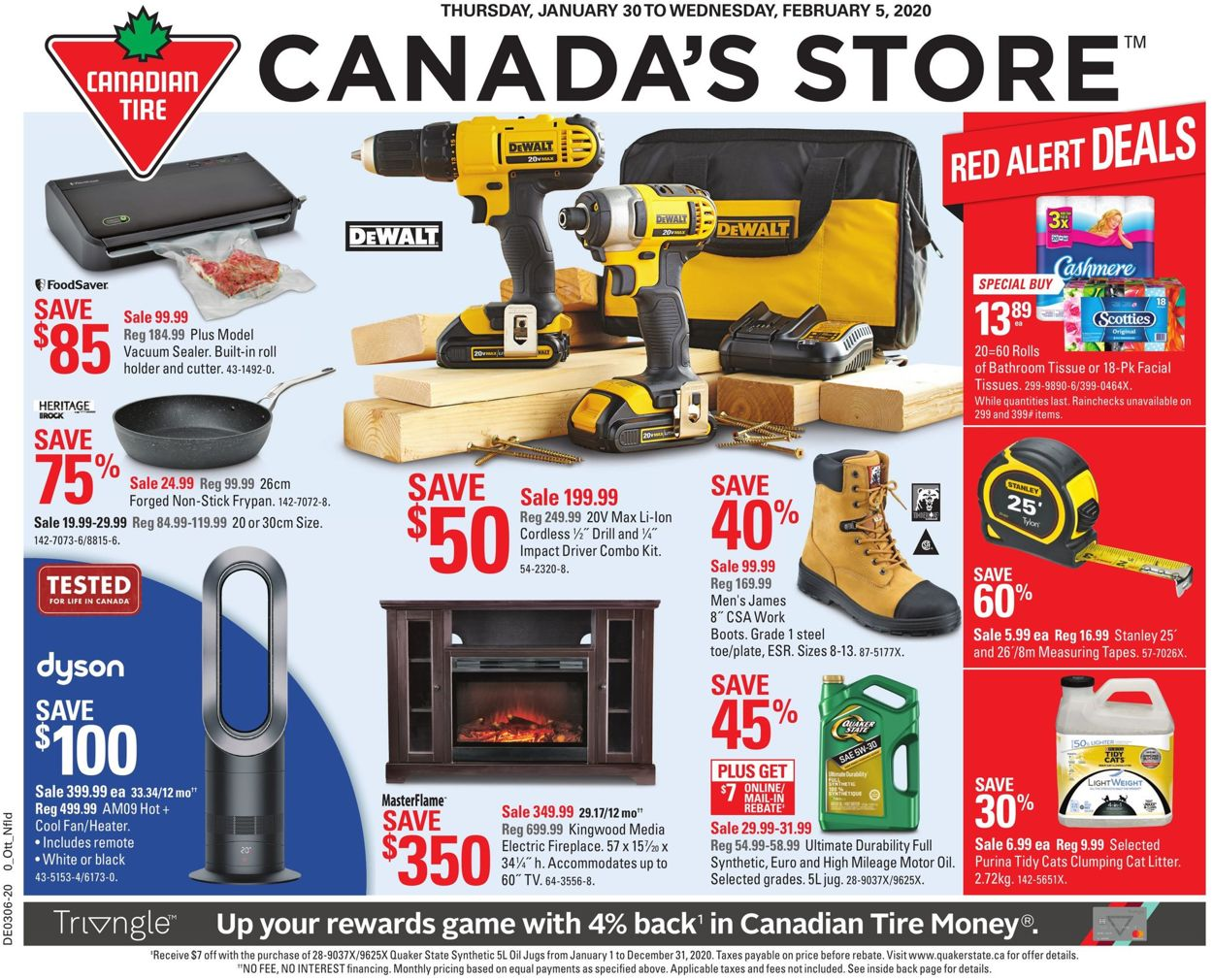 Canadian Tire Flyer - 01/30-02/05/2020