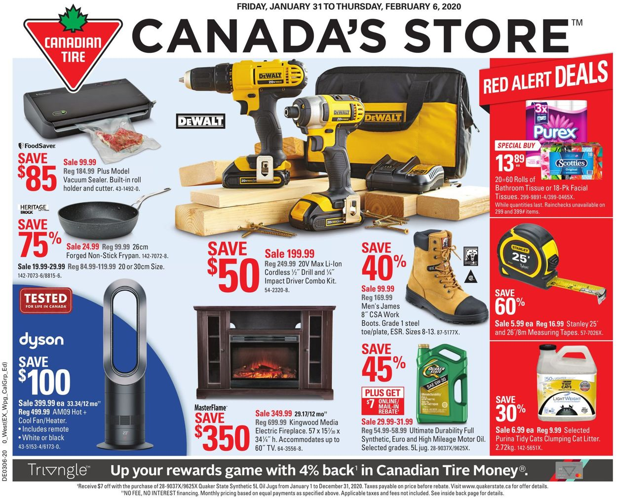 Canadian Tire Flyer - 01/31-02/06/2020