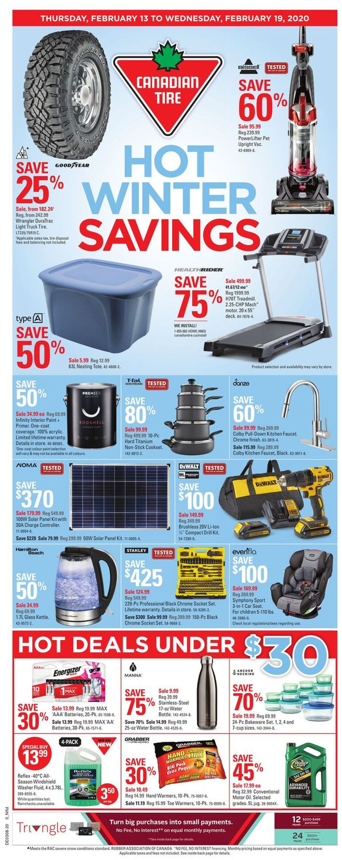 Canadian Tire Flyer - 02/13-02/19/2020