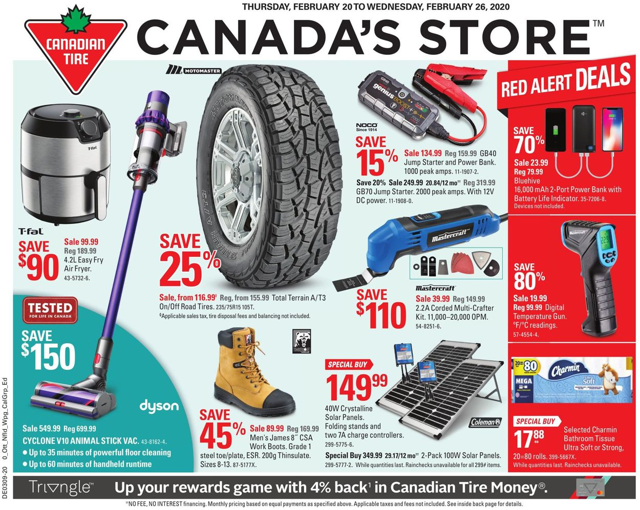 Canadian Tire Flyer - 02/20-02/26/2020