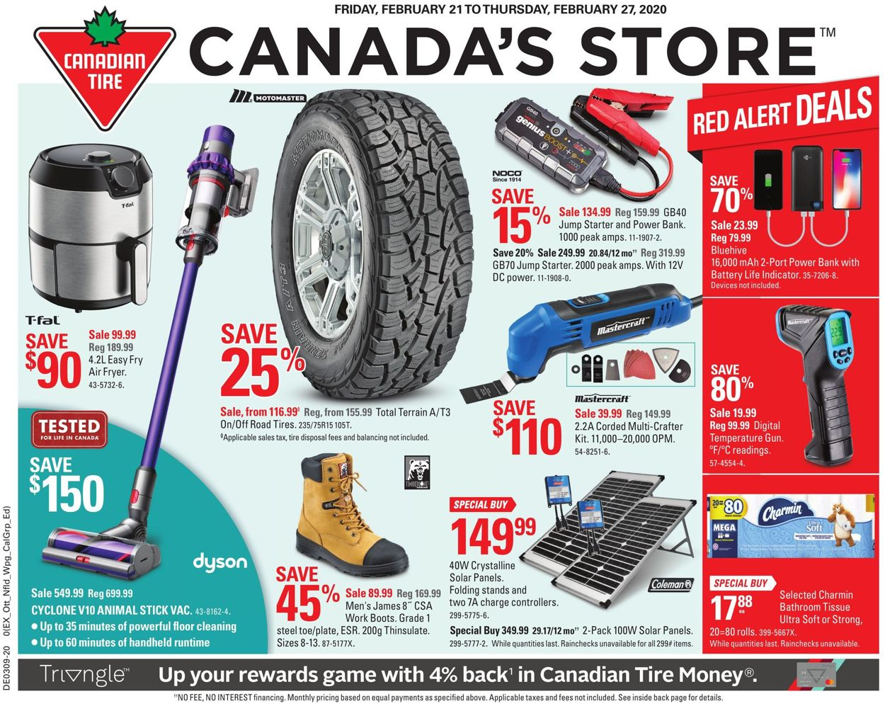 Canadian Tire Flyer - 02/21-02/27/2020