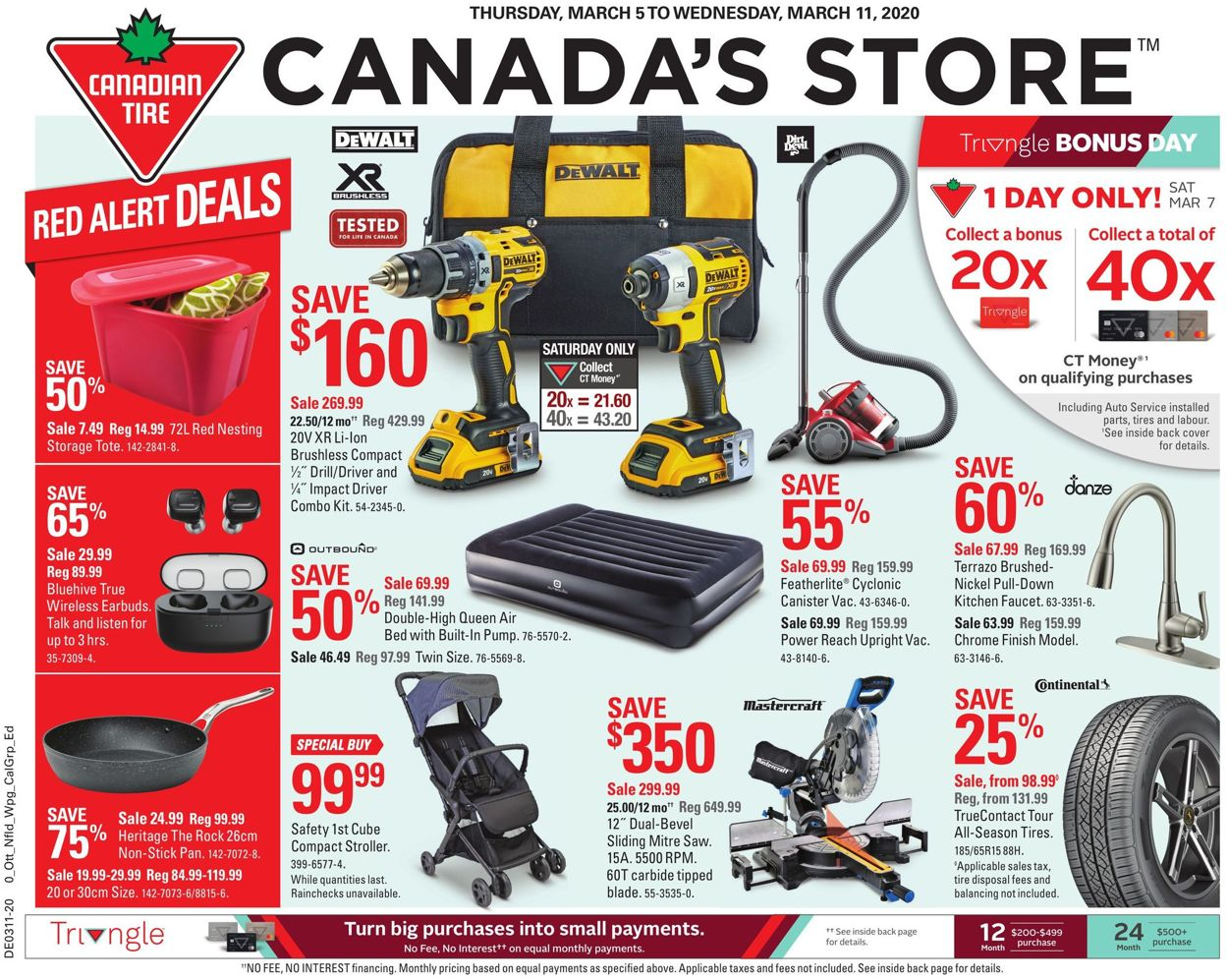 Canadian Tire Flyer - 03/05-03/11/2020