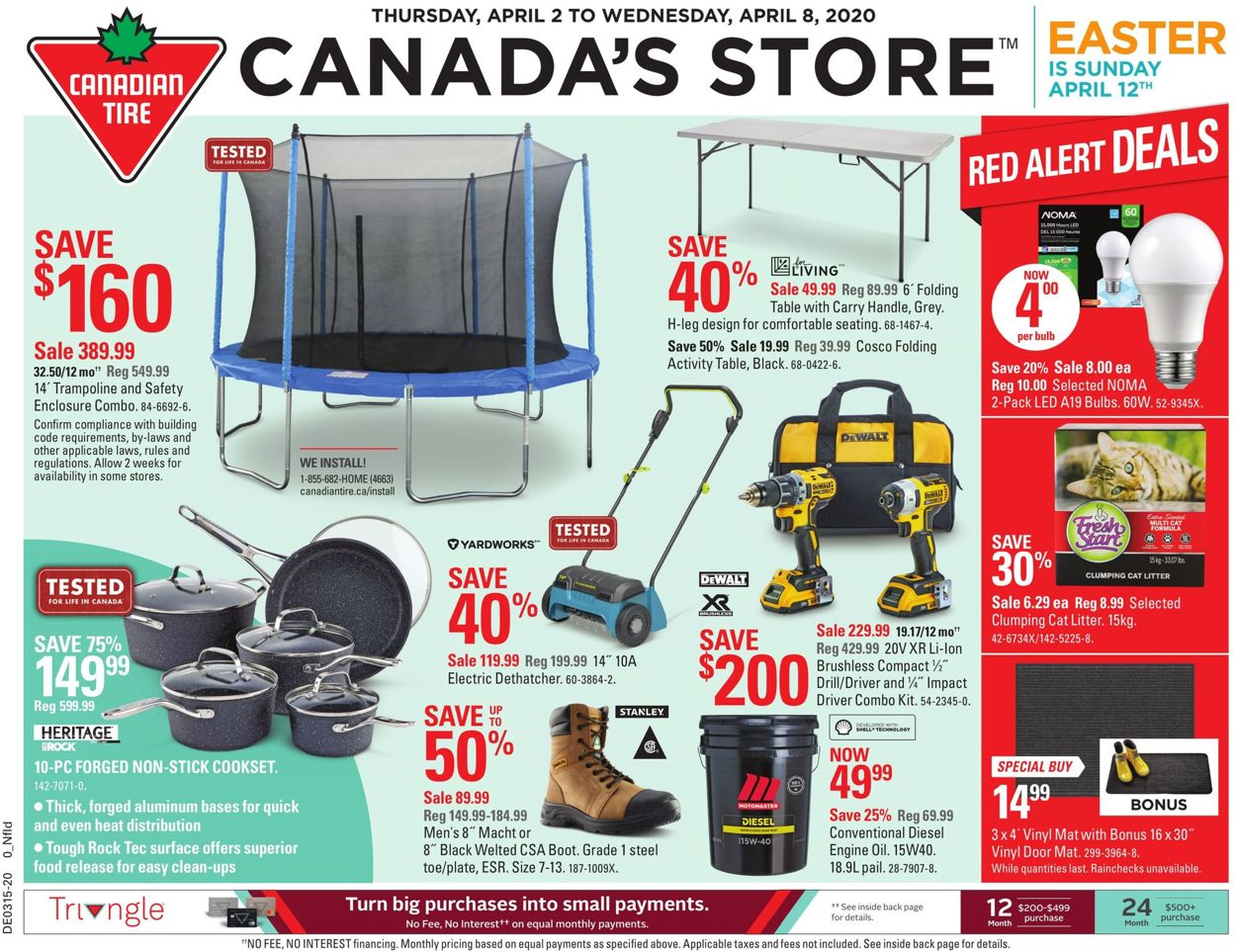 Canadian Tire Flyer - 04/02-04/08/2020