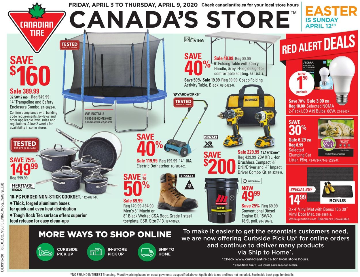 Canadian Tire Flyer - 04/03-04/09/2020