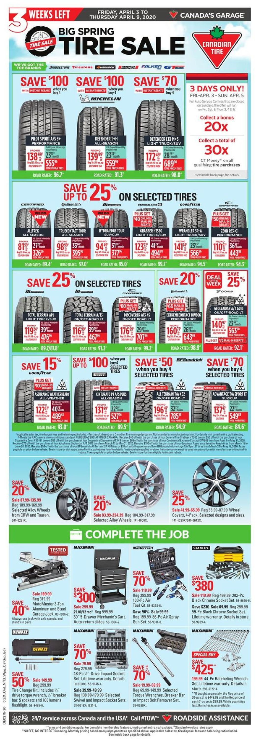 Canadian Tire Flyer - 04/03-04/09/2020 (Page 2)