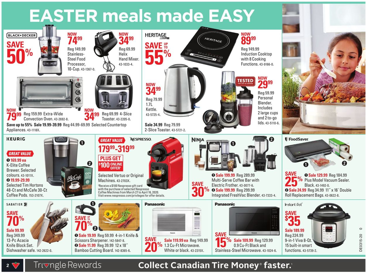 Canadian Tire Flyer - 04/03-04/09/2020 (Page 4)