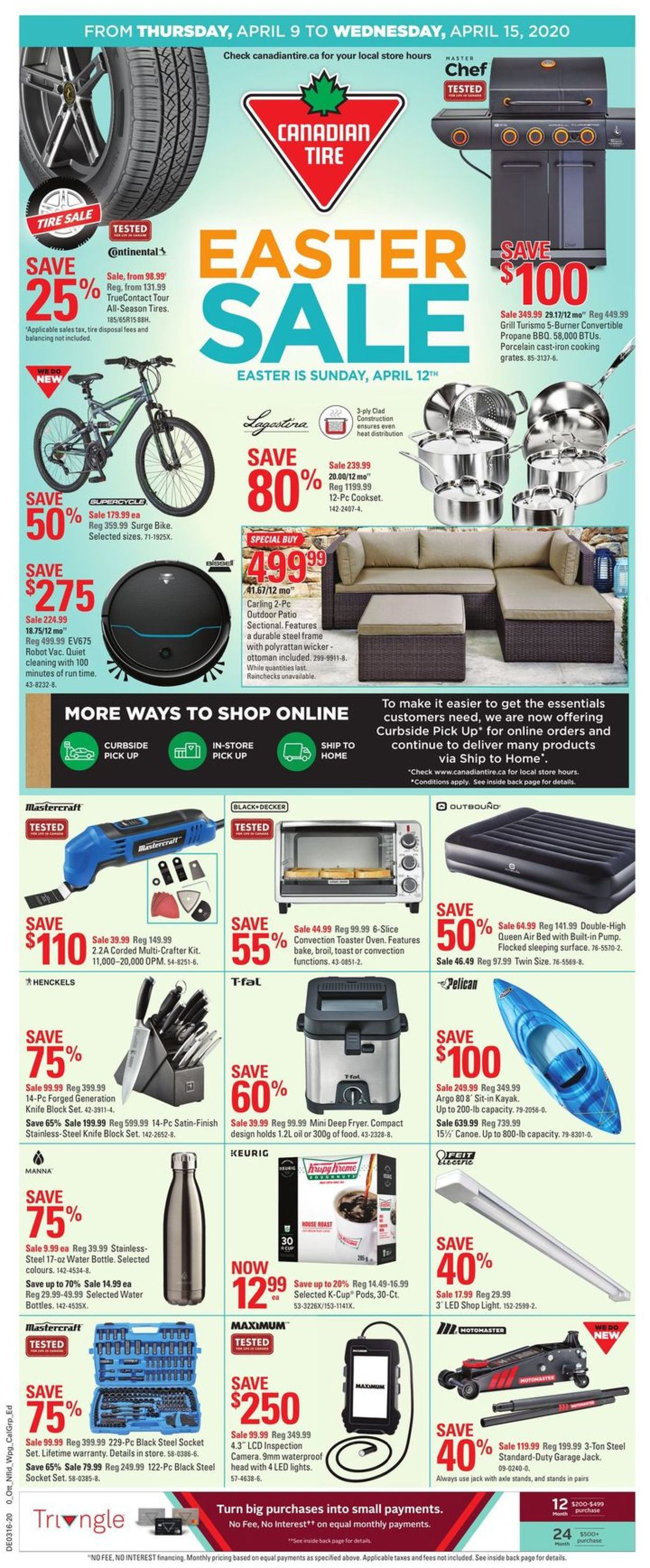 Canadian Tire Flyer - 04/09-04/15/2020