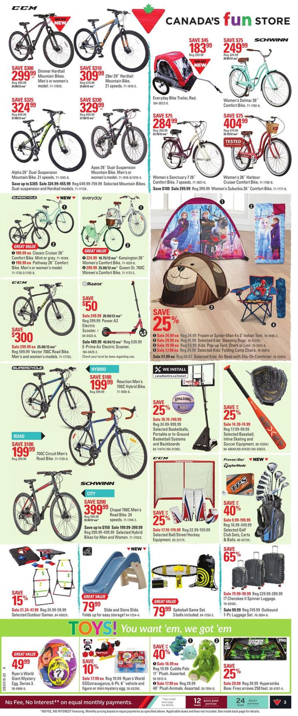 Canadian Tire Flyer - 04/09-04/15/2020 (Page 3)