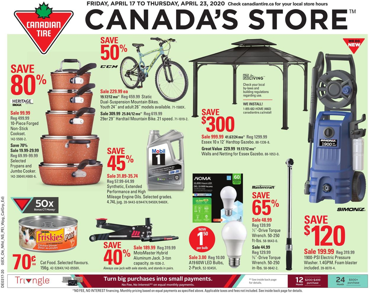 Canadian Tire Flyer - 04/17-04/23/2020