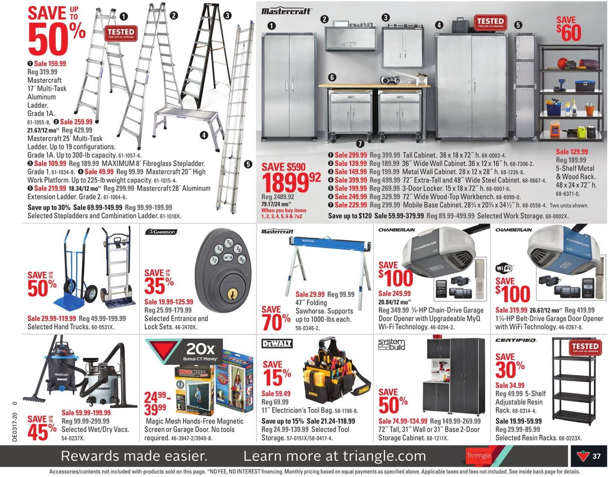 Canadian Tire Flyer - 04/17-04/23/2020 (Page 37)